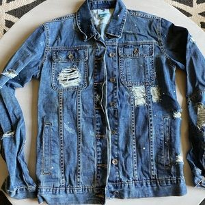 LRG (Lifted Research Group) Distressed Jean Jacket